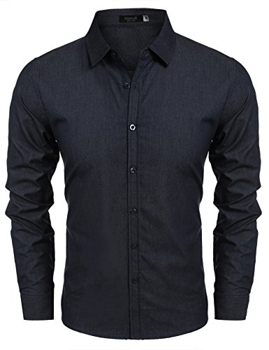 Hasuit Casual Button Sleeve Shirts