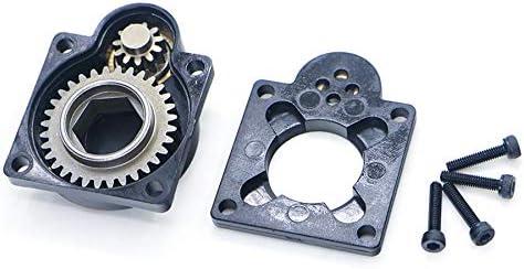 Etase 11011 pour Plaque de Forage de D/éMarrage /éLectrique HSP Plaque Arri/èRe du Moteur Nitro Roto E-Start