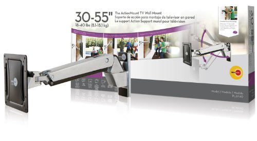 Omnimount Play 40, for 30 to 55 inches TV.With Constant Force (Omnimount Flat Panel Mount)