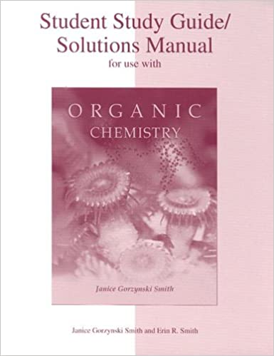 Student study guidesolutions manual for use with organic chemistry student study guidesolutions manual for use with organic chemistry janice gorzynski smith erin r smith 9780072397475 amazon books fandeluxe Gallery