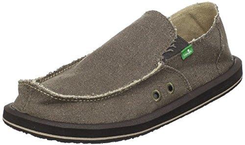 Sanuk Men's Vagabond Loafers & Oxy Shoe Cleaner Bundle Brown pictures cheap price finishline cheap price clearance websites cheap popular discounts fFjdLtdUcQ