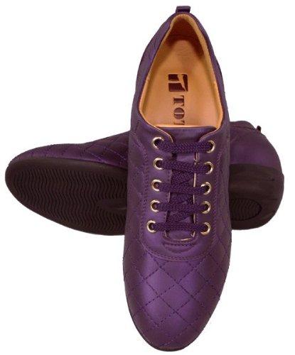 Toto-w1655-6,6cm Grande Taille-Hauteur Augmenter Chaussures ascenseur-Violet-Femme