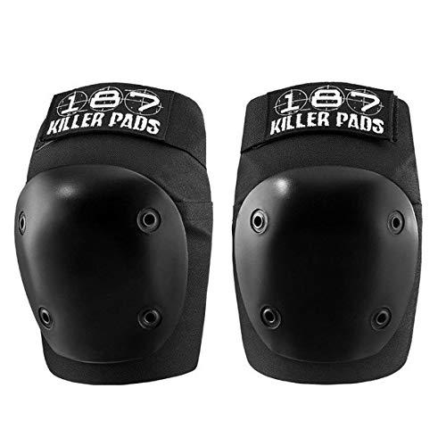 187 Killer Pads Fly Knee (Black, Large) by 187 Killer Pads