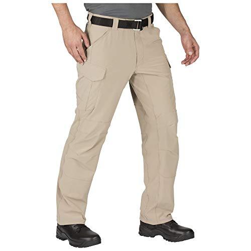5.11 Men's Traverse 2.0 Lightweight Water-Repellent Tactical Stretch Pant, Khaki, 44W x 36L