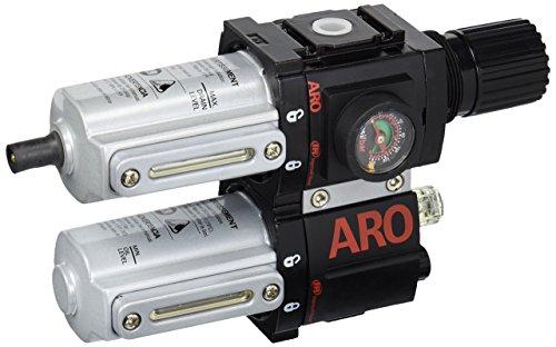 "Ingersoll-Rand ARO 1500 Series 1/4"" Piggyback FRL C38221-610"
