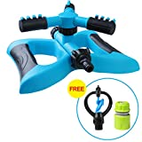 Lawn Sprinkler, Automatic 360 Rotating Adjustable Garden Water Sprinklers Lawn Irrigation System Covering