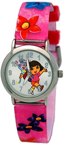 [Dora the Explorer Watch Set in a Dora Backpack # DTE1080B] (Dora Diego And Boots)