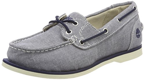 Moccasins Canvas Timberland Classic Navy Blue midnight Women's Canvas tyqgawfO