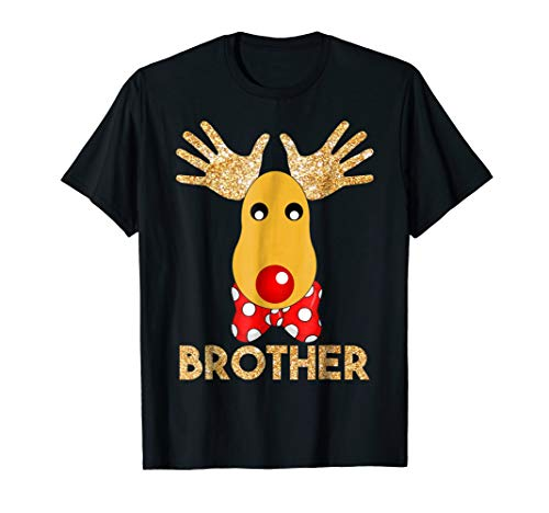 Brother Reindeer Rudolph DIY Funny Christmas T-Shirt