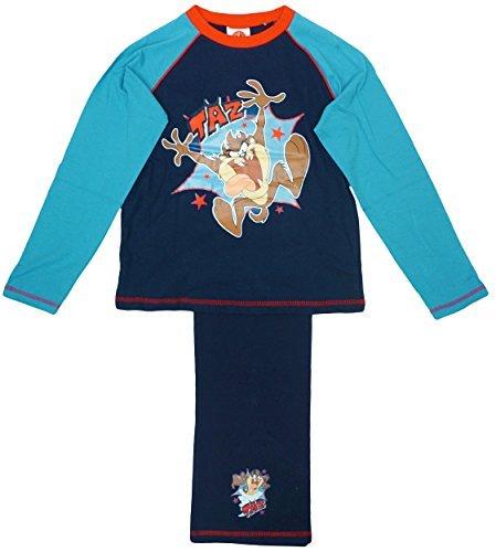 Looney Tunes - Pijama dos piezas - para niño Azul azul