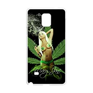 Canting_Good Personalized Marijuana Custom Case for SamSung Galaxy Note4 (Laser Technology) IP-19-LX
