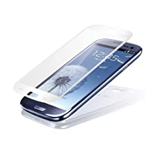 Seidio SPTSSGS3-WH VITREO Tempered Glass Screen Guard for Samsung Galaxy S III - 1 Pack - Retail Packaging - White