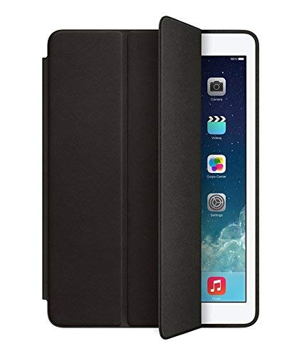 Colorcase Tab Flip Cover Case for Apple iPad Air 2 9.7 inch {Black}