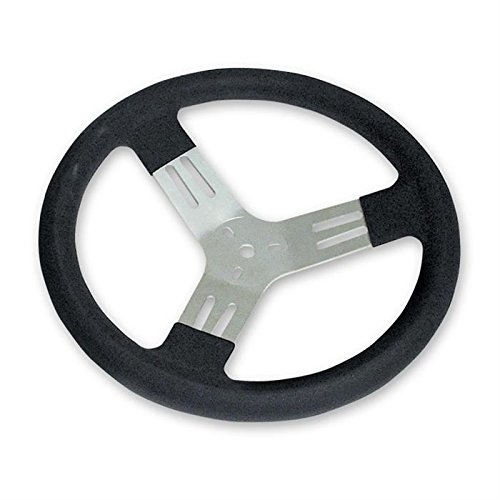 Drift Wheel (Longacre 52-56830 13 in Kart Steering Wheel - Black)