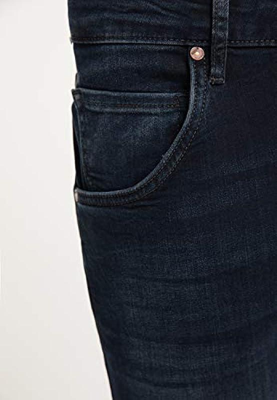 MUSTANG męskie dżinsy Regular Fit Michigan Straight: Odzież