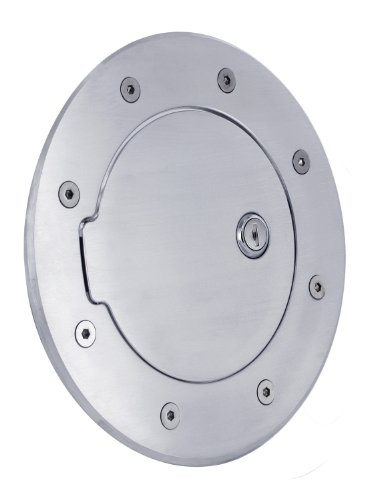 - All Sales 6092CL Chrome Billet Aluminum Locking Fuel Door
