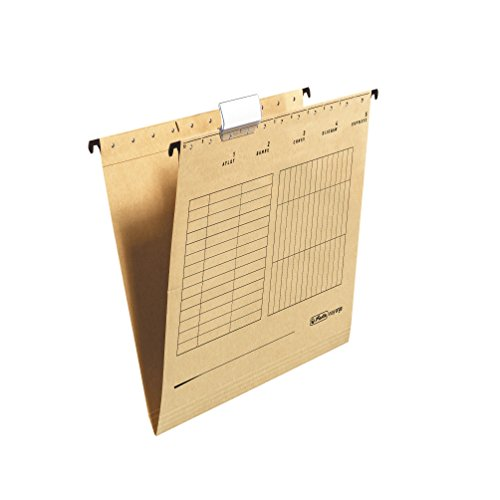 Herlitz Suspension Files For Lateral Insert Beige Pack Of 25 by Herlitz