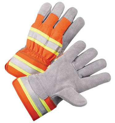 Radnor Large Select Shoulder Leather Palm Gloves With Rub...
