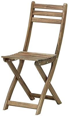 ASKHOLMEN - Silla plegable, para exteriores, color marrón ...