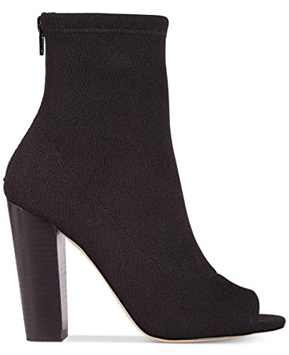 ALDO Womens Loviradda-98 Open Toe Ankle Fashion Boots, Black, Size 7.0