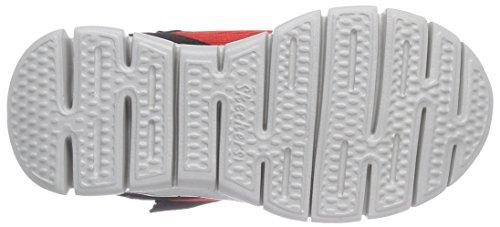 Skechers SynergyPower Rush - Zapatillas zapatilla deportiva de piel niños Rosso (Rot (Rdbk))