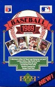 1989 Upper Deck Low Series Baseball Card Hobby Box (Look ...