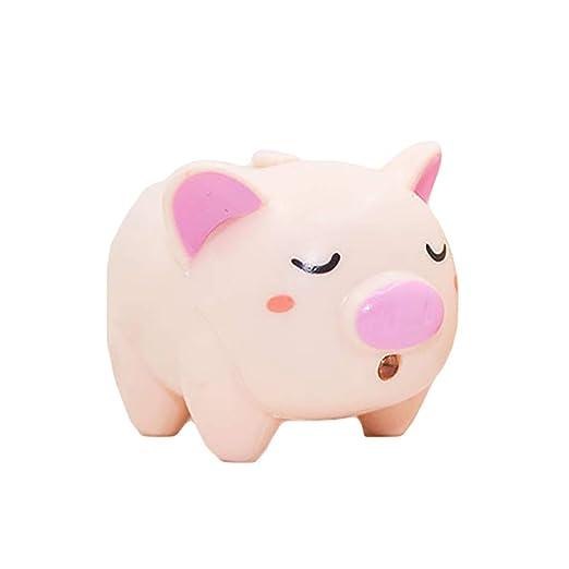 Ukallaite - Llavero con diseño de Cerdo con luz LED, Skin ...