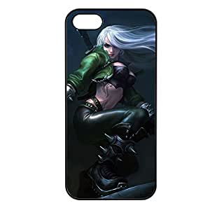 Katarina-002 League of Legends LoL case cover for Apple iPhone 5/5S - Plastic Black
