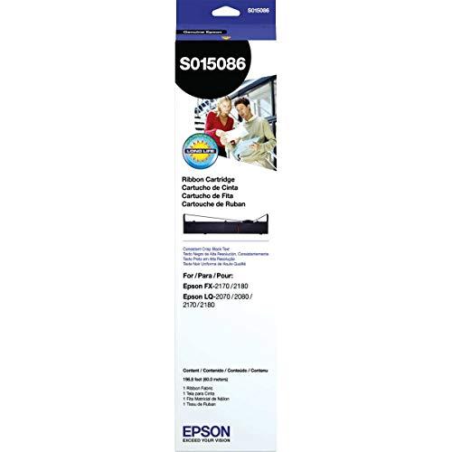 Fita Original Para Impressora Epson S015086 2170/Fx2170/2180, Epson, S015086, Preto