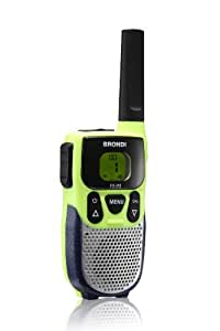 Brondi FX318 - Walkie-talkie, Amarillo