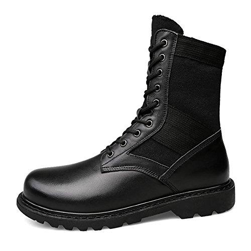 Nero Tenere Inverno cotton Pelle Caldo In Martin Uomo All'aperto Cinghie NANXZ Cima plus Black Boots qxgwIZPtt
