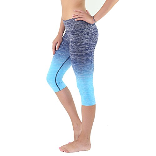 Womens Three quarter Tights Workout Leggings