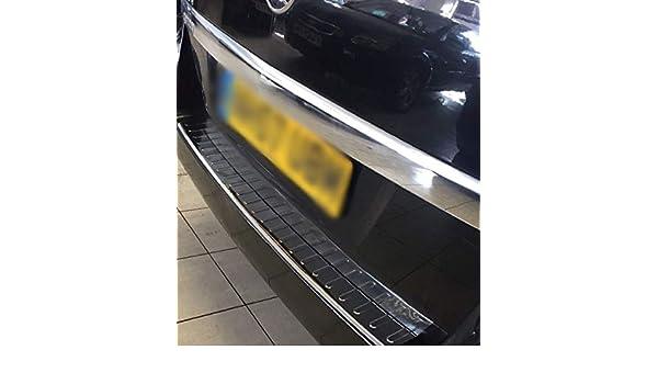 2005-2014 Vauxhall Opel Zafira B Chrome Rear Bumper Protector S.Steel MKII