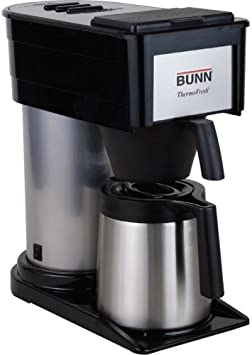 BUNN 10-Cup Thermofresh Home Brewer – 900 W – 10 Cup s – Black, Silver – Stainless Steel
