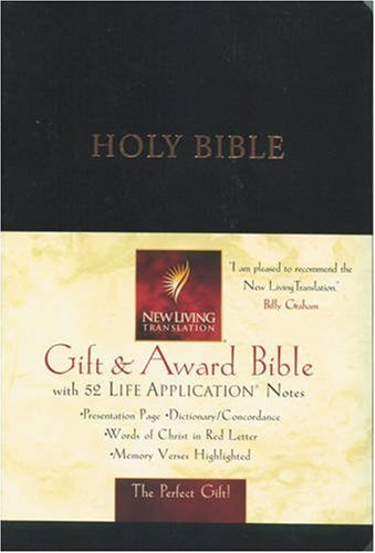 Holy Bible: New Living Translation. Gift & Award Edition (Nlt Gift)