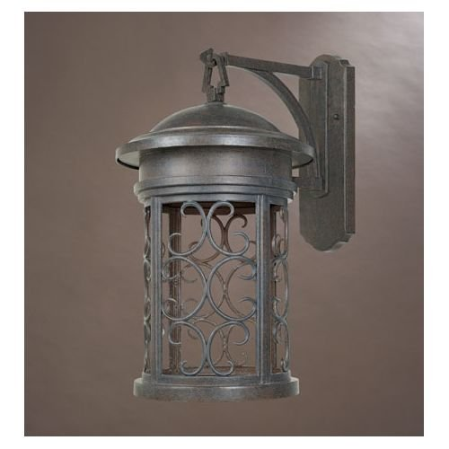 Designers Fountain 31131-MP Ellington-DS Wall Lanterns, Mediterranean Patina by Designers Fountain
