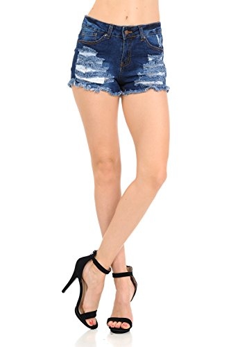 メイエラ行動物Wax Jeans SHORTS レディース