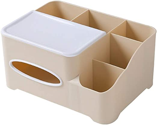 Caja de almacenamiento Sala de Estar Simple Tejidos Multiusos Simple Caja de pañuelos de plástico Creativa for el hogar contr: Amazon.es: Hogar