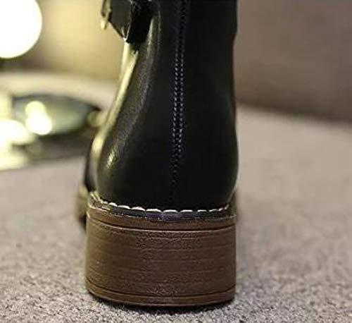 Alla Alla Boots Da Donna Donna Donna Fibbia Con Cintura Grey Martin Stivaletti 0zqIwTnI
