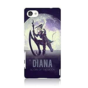 LOL Sony Xperia Z5 Case Wonderful Solid LOL Heroic Corki Phone Case Cover For Sony Xperia Z5 League Of Legends Popular Fashion