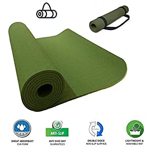 VI FITKIT® Yoga Mat Anti Skid EVA Yoga mat with Carrying Strap