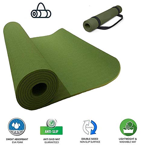 VI FITKIT® Yoga Mat Anti Skid EVA Yoga mat with Carrying Strap