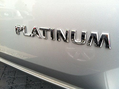 NISSAN ARMADA - PLATINUM - EMBLEM FOR REAR GATE