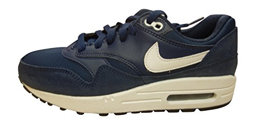 Max White Bambino 410 Nike Air Black Midnight Sportive 1 Navy GS Scarpe Unisex 5xqFR