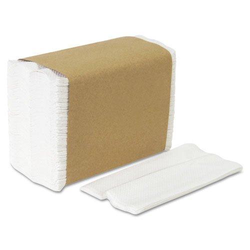 GPC33201 - Tall Fold Napkins, 1-ply, 7 X 13-1/2, White