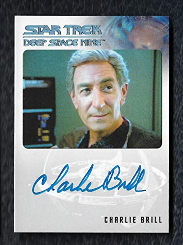 """2018 Rittenhouse Archives Star Trek Deep Space Nine Heroes & Villains Autograph Charlie Brill as Arne Darvin""""Very Limited"""""""
