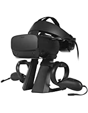 Esimen VR Stand for Oculus Rift S/Oculus Quest Controllers VR Gaming Headset Holder Display Mount Station