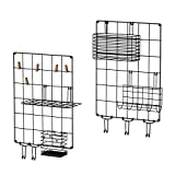 Love-KANKEI Wall Grid Panel Wire Grid Panel Set of