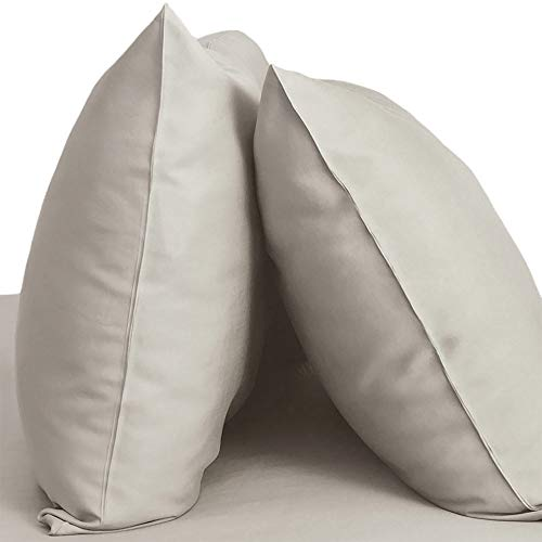 Cariloha Resort Bamboo Pillowcases 2 Piece Pillowcase Set - 100% Viscose from Bamboo Bedding (King, Harbor ()
