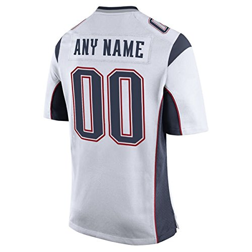 CustomYO-Jersey Men's NE Elvis Football Team White Design Customized Game Jersey Embroidery (2)
